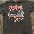 Sepultura - TShirt or Longsleeve - Sepultura schizophrenia European 1991 tour shirt