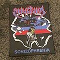 Sepultura - Patch - Sepultura schizophrenia back patch