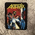 Anthrax - Patch - Anthrax spreading the disease patch