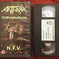 Anthrax,oidivnikufesin,N.F.V.,VHS 1987. Tape / Vinyl / CD / Recording etc