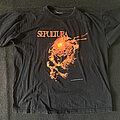 Sepultura - TShirt or Longsleeve - Sepultura beneath the reamins 1991 tour shirt (1990)