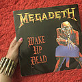 Megadeth wake up dead single 1986 vinyl  Tape / Vinyl / CD / Recording etc