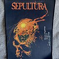 Sepultura - Patch - Sepultura beneath the remains back patch