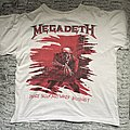 Megadeth peace sells but who's buying 1987 shirt