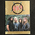 Slayer tour programme 1987