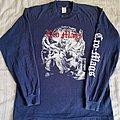 Cro-mags - TShirt or Longsleeve - Cro-Mags 1991 Euro tour longsleeve blue