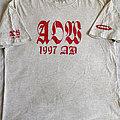 All Out War 1997 shirt