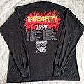 Integrity 1993 Dark Empire tour longsleeve