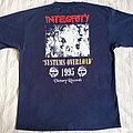 Integrity 1995 tour shirt