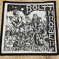 Bolt Thrower - Patch - In Battle there is no Law embroiderd Patch