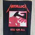 Metallica Kill em All Backpatch