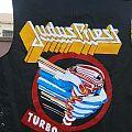 Judas Priest - Battle Jacket - Judas Priest Turbo hand painted leather vest