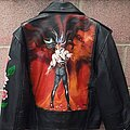 Ozzy Osbourne - Battle Jacket - Ozzy Osbourne the ultimate sin painted leather jacket