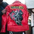 Warhead - Battle Jacket - Warhead red leather jacket