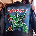 Tankard - Battle Jacket - Tankard alien painted leather jacket