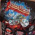 Judas Priest - Battle Jacket - Judas priest painkiller painted leather vest