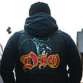 Dio - Battle Jacket - Dio holy diver painted leather vest