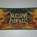 Nuclear Assault - Patch - Nuclear Assault Surive Patch (Green Border)