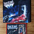 Vulture - Patch - Vulture Ghastly Waves & Battered Gaves Patch + Cd
