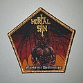Mortal Sin - Patch - Mortal Sin Mayhemic Destruction Patch (Gold Border)