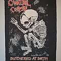 Cannibal Corpse - Patch - Cannibal Corpse Butchered at Birth Backpatch