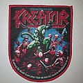 Kreator - Patch - Kreator Pleasure To Kill Red Border Patch