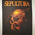 Sepultura - Patch - Sepultura Beneath The Remains Backpatch