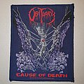 Obituary - Patch - Obituary Cause Of Death Patch (Blue Border)