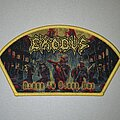 Exodus - Patch - Exodus Blood In Blood Out Patch (Yellow Border)