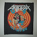 Anthrax - Patch - Anthrax State Of Euphoria Patch