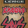 Vio-lence / Exodus / Sadus Backpatch!