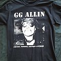 GG Allin - TShirt or Longsleeve - GG Allin - Freaks, Faggots , Drunks & Junkies