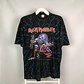 Iron Maiden - TShirt or Longsleeve - 1993 Iron Maiden Real Live One Tour Trashed All Over Printed T-Shirt