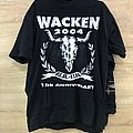 Wacken Open Air 2004 15th Anniversary Limited T-Shirt