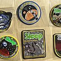 Sleep Band Complete Tour Embroidered Patch Set of 6 from 2010-2018