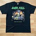 Overkill under the influence t shirt XL