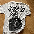 Suicidal tendencies white  t shirt