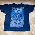 megadeth t-shirt 2011 xl tour official licensed