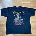 Megadeth So Far, So Good... So What! 2xl xxl 2 xl t-shirt black uk