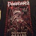 Possessed Devils Over Europe tour shirt