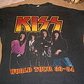 Kiss - TShirt or Longsleeve - Kiss Euro Tour 1984