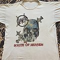 Slayer South of Heaven TShirt 1990