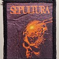 Sepultura - Patch - Printed Beneath the Remains Patch