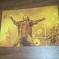 Attila Csihar (Mayhem,Gravetemple,Tormentor)signed photo