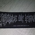 Cradle Of Filth logo Patch