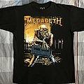 Megadeth - TShirt or Longsleeve - Peace Sells...