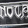 Patch - Minotaur Logo Stripe Patch White Border