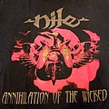 Nile Annihilation Of The Wicked Shirt