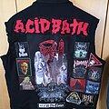 Acid Bath - Battle Jacket - Work in Progress Deathmetal Vest Update + Spare Patches