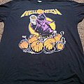 Helloween 1987 tour t-shirt